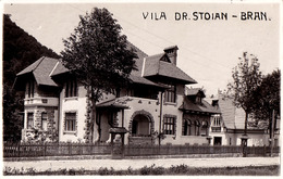 BRAN / BRASOV : VILA Dr. STOIAN - CARTE VRAIE PHOTO / REAL PHOTO POSTCARD ~ 1930 - '935 (ad713) - Rumänien