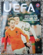 UEFA DIRECT NR.182 JANUAR/FEBRUAR 2019, MAGAZINE - Libros
