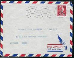 Réunion - Thématique Marianne De Muller - N° 337A Sur Lettre - TTB - CFA - La Isla De La Reunion (1852-1975)