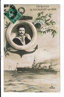 CPA Carte Postale-France- Un Baiser De Rochefort Sur Mer -Marine Française 1915 VM12232 - Rochefort