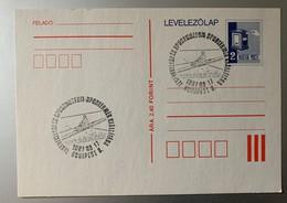 9976 -  Cachet  Aviron  17.08.1987 Budapest Sur Entier Postal - Rowing