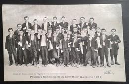 54 LUNEVILLE Premiers Communiants De Saint Maur En 1911 - Luneville