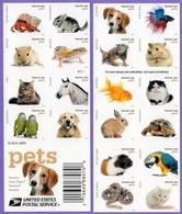 United States. USA 2016.  Fauna. Animals. Birds. Dog. Cats Horses. Fish. Reptiles. MNH - Blocchi