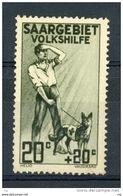 Sarre  :  Mi  104  ** - 1920-35 Saargebied -onder Volkenbond