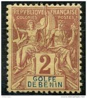 Benin (1893) N 21 * (charniere) - Unused Stamps