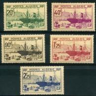 Algerie (1939) N 153 à 157 * (charniere) - Ongebruikt