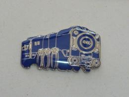 Pin's LOCOMOTIVE BLEUE - TGV