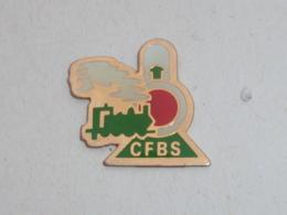 Pin's LOCOMOTIVE C.F.B.S. B - TGV
