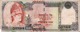 NEPAL 1000 RUPEES 1996 P-36 - Nepal