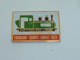 Pin's LOCOMOTIVE TRANSVAP, CORPET LOUVET 1923 - TGV