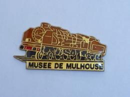 Pin's LOCOMOTIVE, MUSEE DE MULHOUSE - TGV