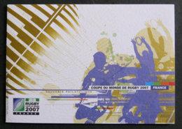 FRANCE - 2007 - YT FDC 4080 - ENCART COUPE DU MONDE DE RUGBY - 2000-2009