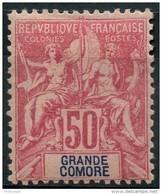 Grande Comores (1897) N 11 * (charniere) - Neufs