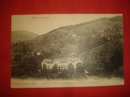 N°0738 VOSGES 88. BUSSANG. L'HOTEL DES SOURCES MINERALES PRES DU COL DE BUSSANG. - Bussang