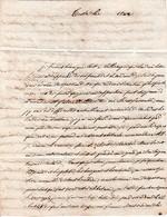 1822 CASTRES - Lettre à M. ABRIC - Pasteur à VALLERAUGUE (30) - Historische Dokumente