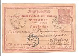 Smyrne 17.8.95>Voorburg - 1858-1921 Ottoman Empire