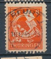 Duitsland/Germany SBZ Thuringen 1945 Mi: 96 Ax (Gebr/used/obl/usato/o)(5040) - Soviet Zone