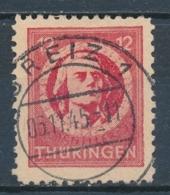 Duitsland/Germany SBZ Thuringen 1945 Mi: 97 Ax (Gebr/used/obl/usato/o)(5041) - Soviet Zone