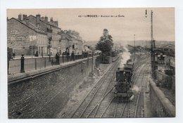 - CPA LIMOGES (87) - Avenue De La Gare (avec Train à Vapeur) - - Limoges