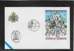 Saint Marin - Enveloppe FDC - TB - FDC