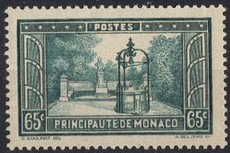 MONACO  N* 124 TB Charniere - Monaco