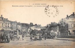 ¤¤  -  MONMEDY   -  Le Nouveau Chemin De Fer Pendant L'Occupation En 1914 - Train   -  La Grande Guerre    -   ¤¤ - Montmedy