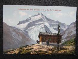 AK ZUFALLHÜTTE Hütte Ortler Dolomiten Rifugio Nino Corsi Ca.1910 ///  D*41695 - Italia