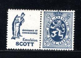 PU37 MNH 1929-1932 - 50 Cent Scott (croissance) - Werbung