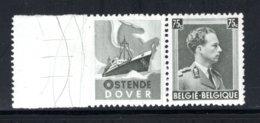 PU112 MNH 1938-1939 - 75 Cent Oostende-Dover - Pubblicitari