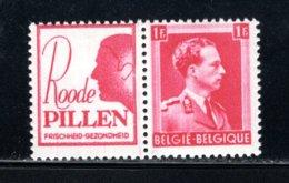 PU162 MNH 1941 - 1 Fr Roode Pillen (man) - Publicités