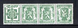 PUc93A MNH 1936-1937 - 35 Cent Telefunken - Werbung