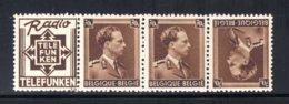PUc98A MNH 1936-1937 - 70 Cent Telefunken - Werbung