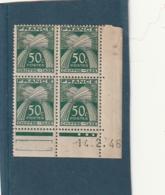 COINS DATE ///   Taxe N° 69 **  Millésime 1946 - 1940-1949