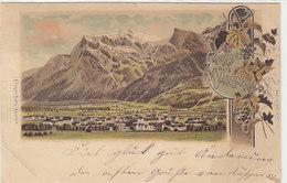 Gruss Aus Maienfeld - Litho - 1899         (P-208-90304) - GR Grisons