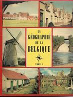 La Geographie De La Belgique Les éditions Du Lombard  Album 1 Et 2 - Sammelbilderalben & Katalogue