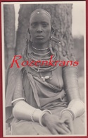 L'Afrique Qui Disparait! Une Femme Massai Girl Seins Nus Naked Kenya Photo C. Zagourski Leopoldville Congo Belge Native - Kenya