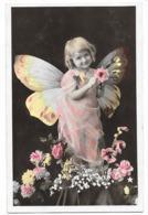 Petite Fille Papillon , Couleur - Portraits