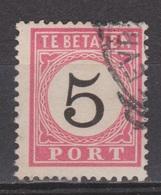 Nederlands Indie Dutch Netherlands Indies Port 6 Tanding B Type 1 Used ; Portzegel Due Stamp Timbre Tax Dienstmarke 1882 - Niederländisch-Indien