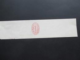 Japan Alte Ganzsache / Streifband / Wrapper Um 1900 Ungebraucht! - Sobres