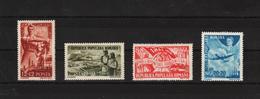 1948 - Commem. Du 1 MAI  Mi No 1121/1124 Et Yv No 1025/1027+P.A. - Ungebraucht