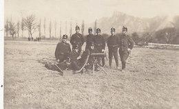 Maschinengewehr - Im Felde - Militärstempel - 1916        (P-208-90304) - Equipment