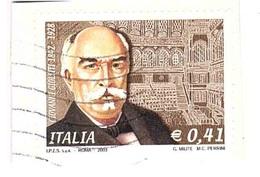 2003 €0,41 GIOVANNI GIOLITTI - 1946-.. République
