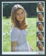 Feuillet Princesse Elisabeth 2019 VF 9,8 € - Ganze Bögen