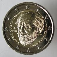 GR20019.1 - GRECE - 2 Euros Commémo. Andreas Kalvos - 2019 - Grèce
