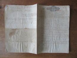 9 OCTOBRE 1689 PARCHEMIN CACHET GEN. CAEN DIX SOLS - Algemene Zegels