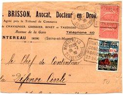 SEINE Et MARNE - Dépt N° 77 = MONTEREAU 1930 = FLAMME DAGUIN ' CONCOURS AGRICOLE ' + VIGNETTE - Marcophilie (Lettres)