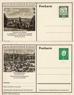 Entier Postal De 10 Pf  Vert Au Type Du TP 174 Et 223 Sur Cartes Postales Neuves - Geïllustreerde Postkaarten - Ongebruikt
