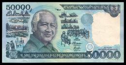 # # # Banknote Indonesien (Indonesia) 50.000 Rupiah 1995 AU # # # - Indonesien