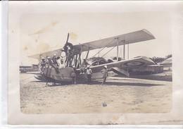 Photo Ancienne France Madagascar Aviation Hydravion Bernard  Bougault 1926 Aeronavale - Aviation