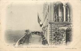 Dép 13 - Marseille - Route De La Corniche - Le Restaurant De La Réserve - ND Phot - Bon état Général - Endoume, Roucas, Corniche, Beaches
